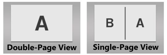 Double-Page View setting