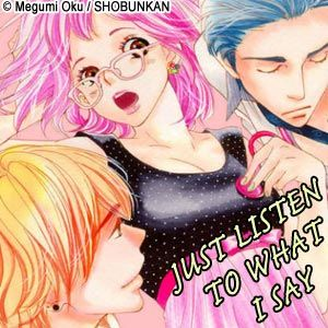 Just Listen To What I Say feature page label