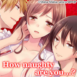 How Naughty Are You? feature page label