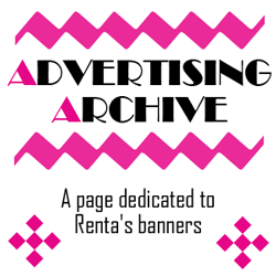 Advertising Archive feature page label