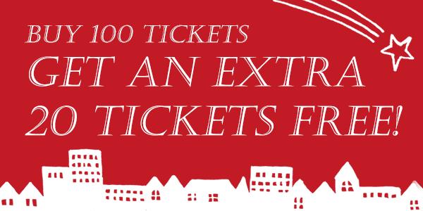 Get an extra tickets!